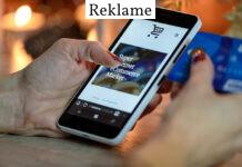 Online handel via mobiltelefon